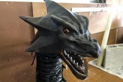 オリジナル怪獣パペット『首長龍』