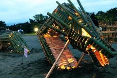 竹ドラゴン 一宮リバーサイドフェス展示